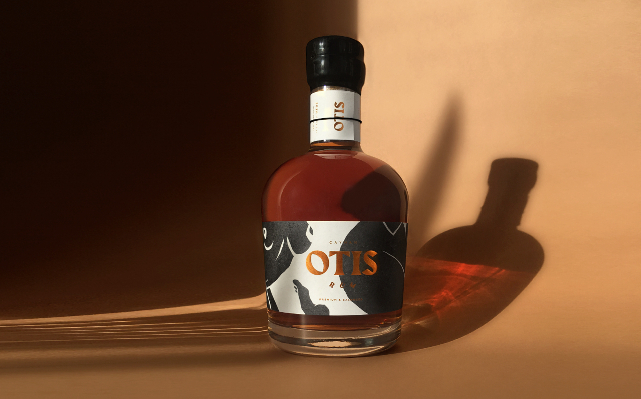 Brand and Packaging Design for High End Cayman Rum