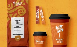 Latin Culture Inspired Brand Identity & Packaging Design for Quixote & Kids, a School for Spanish-speaking Children From Atlanta