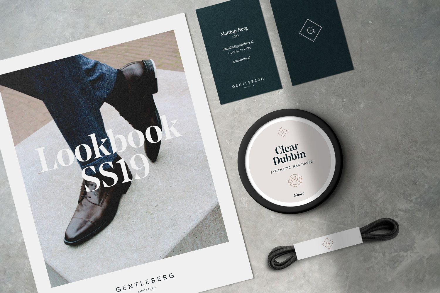 Branding Strategy and Identity Design for Vegan Gentlemen Shoes Brand