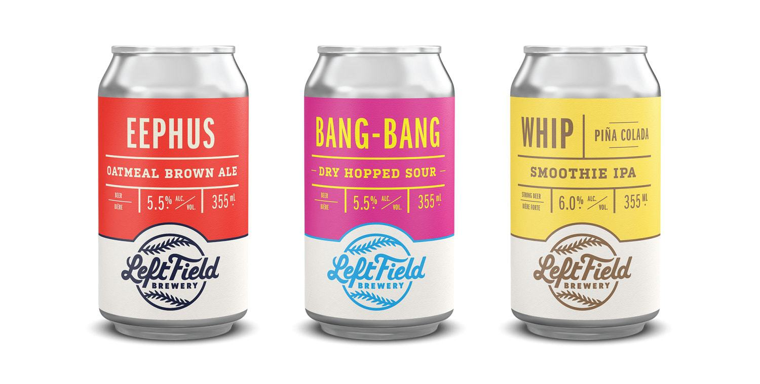 Left Field Brewery Branding & Packaging Refresh