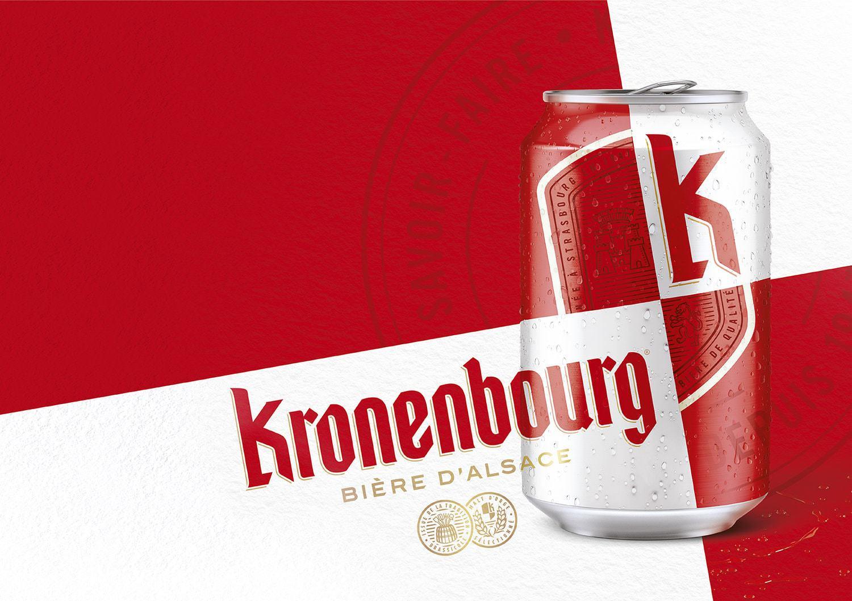 France's Most Popular Beer Rebrand