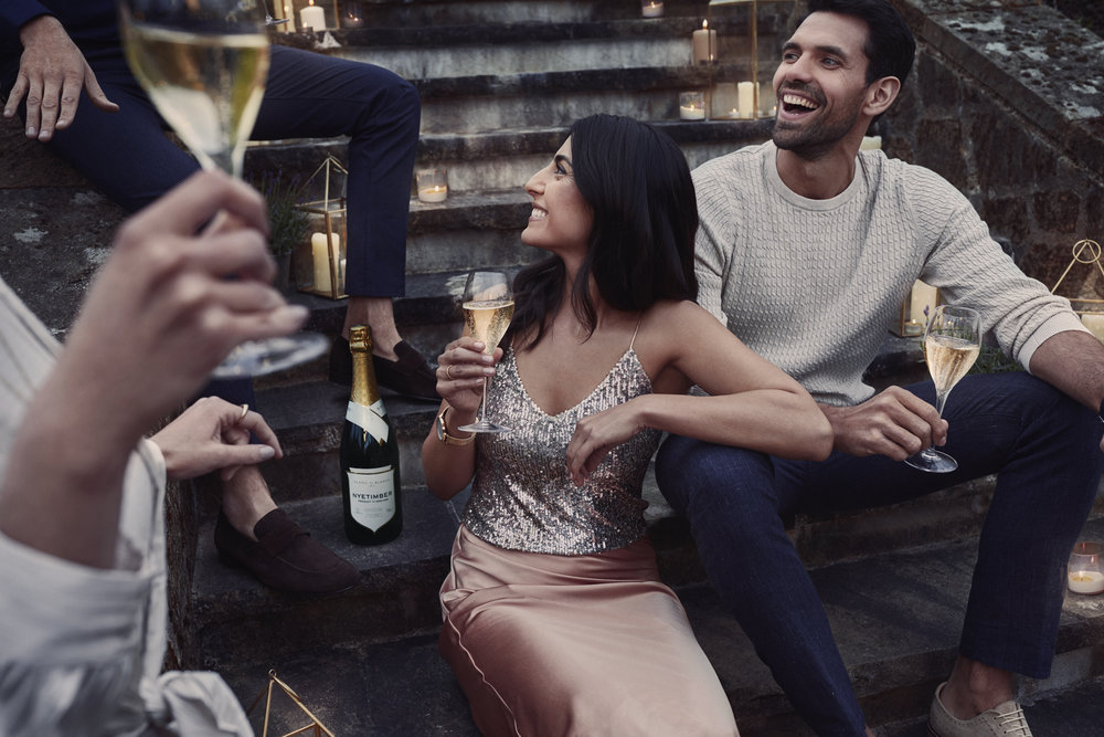 Deep Create Summer Campaign for Luxury Sparkling Wine Brand, Nyetimber