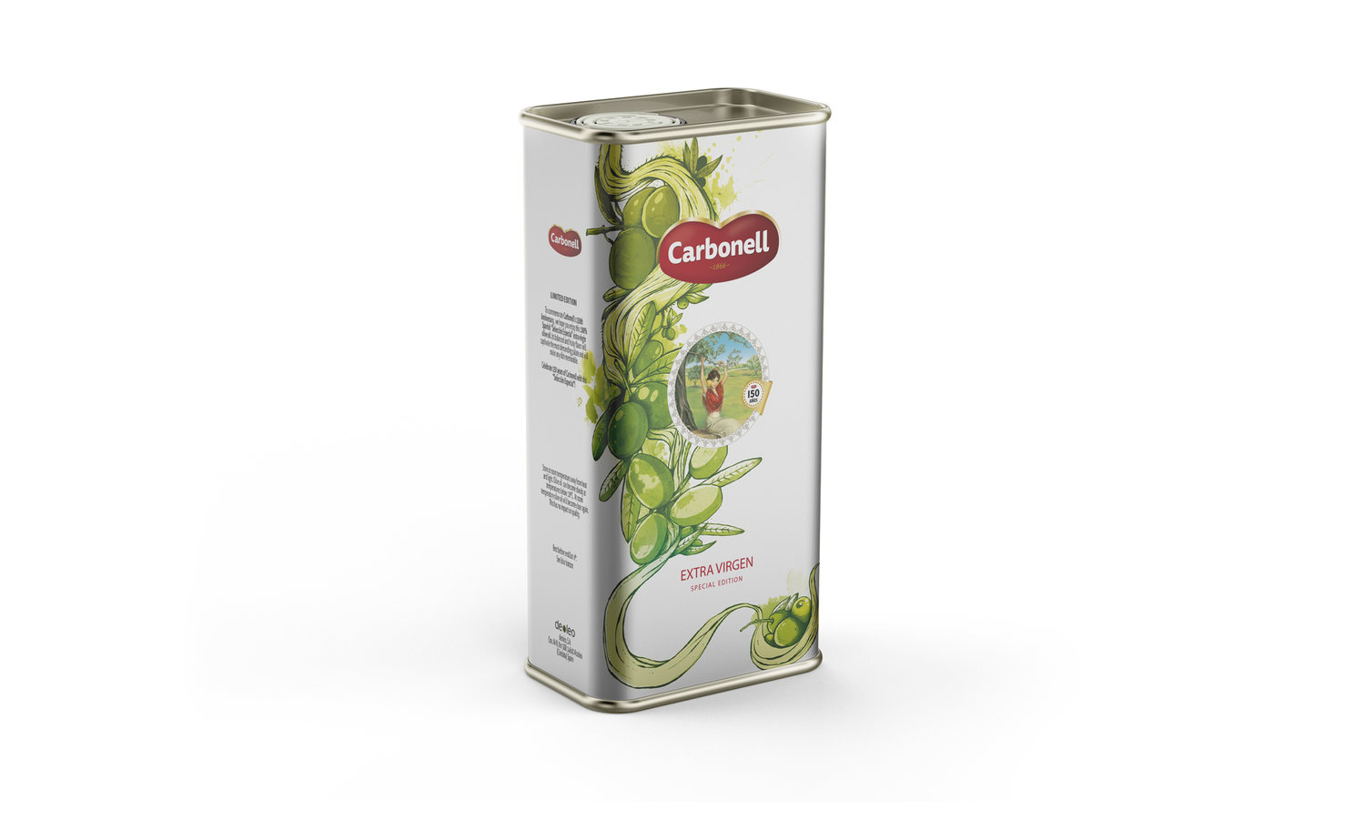 Packaging Design For Carbonell Spain
