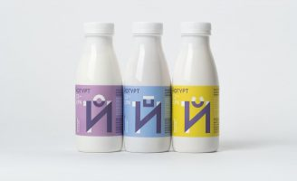 Dairy Packaging For Kids (The Family Farm of Cheburashkini Brothers)