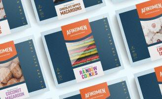 Branding and Packaging for Afikomen Passover Pastries