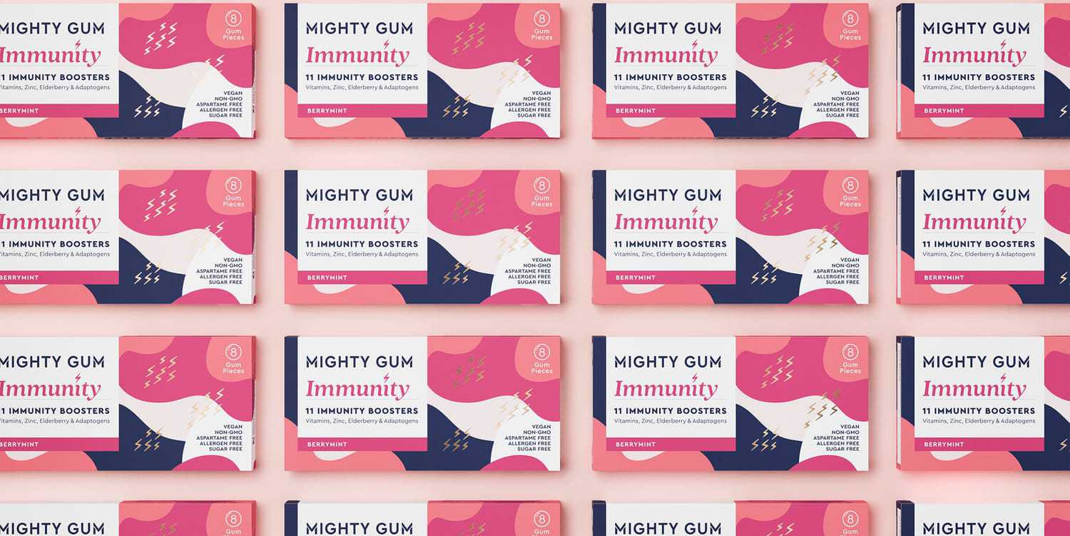 Hunger Makes Mighty Gum Fashionable as Well as Functional