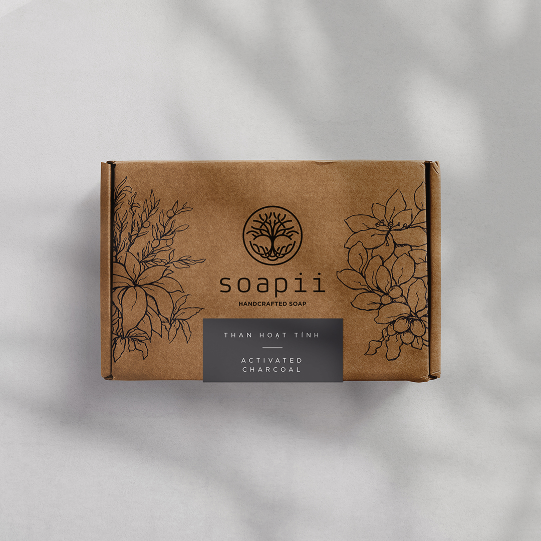 Minimalistic Packaging Design for Handcrafted Soaps Manufacturer