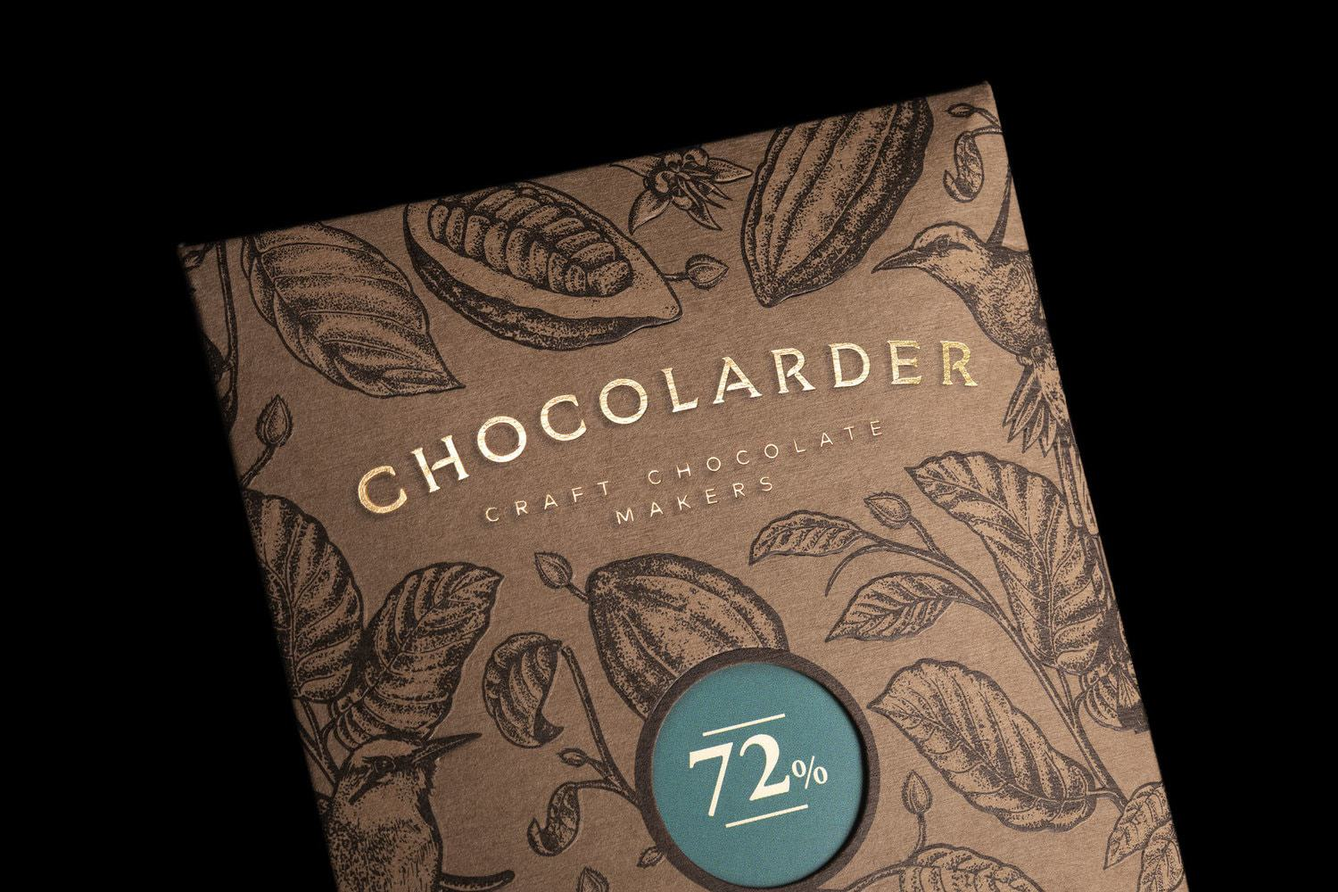 Sustainability Meets Luxury in This Craft Chocolate Packaging