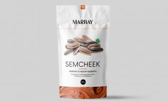 Sunflower seeds Packaging for Marbay Company from Nur-Sultan, Kazakhstan