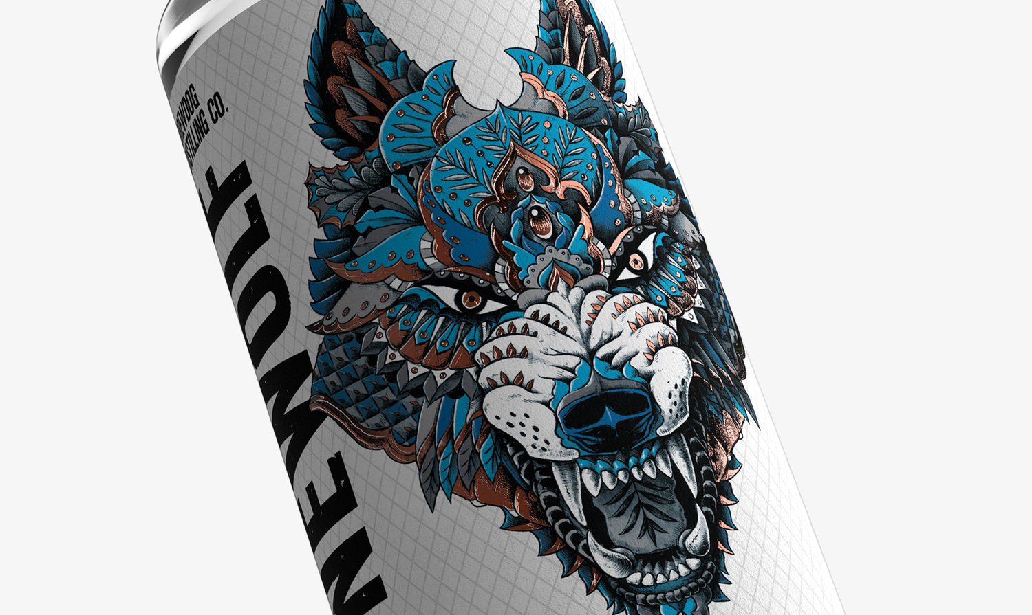 Love Reveals New Packaging Design For Brewdog Gin Lonewolf World Brand Design