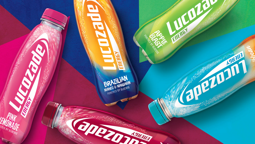 Lucozade Energy Flavours Redesigned for the First Time in Over 8 Years