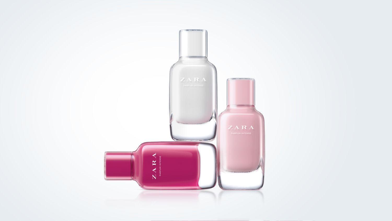Bottle Design for a Woman's Fragrance. Inditex (Zara)