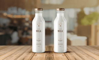 Brand and Packaging Design for Luxury Milk Bar in New Zealand