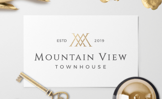 Mountain View Townhouse Luxury Hotel Branding