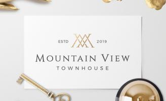 Mountain View Townhouse Luxury Hotel Branding