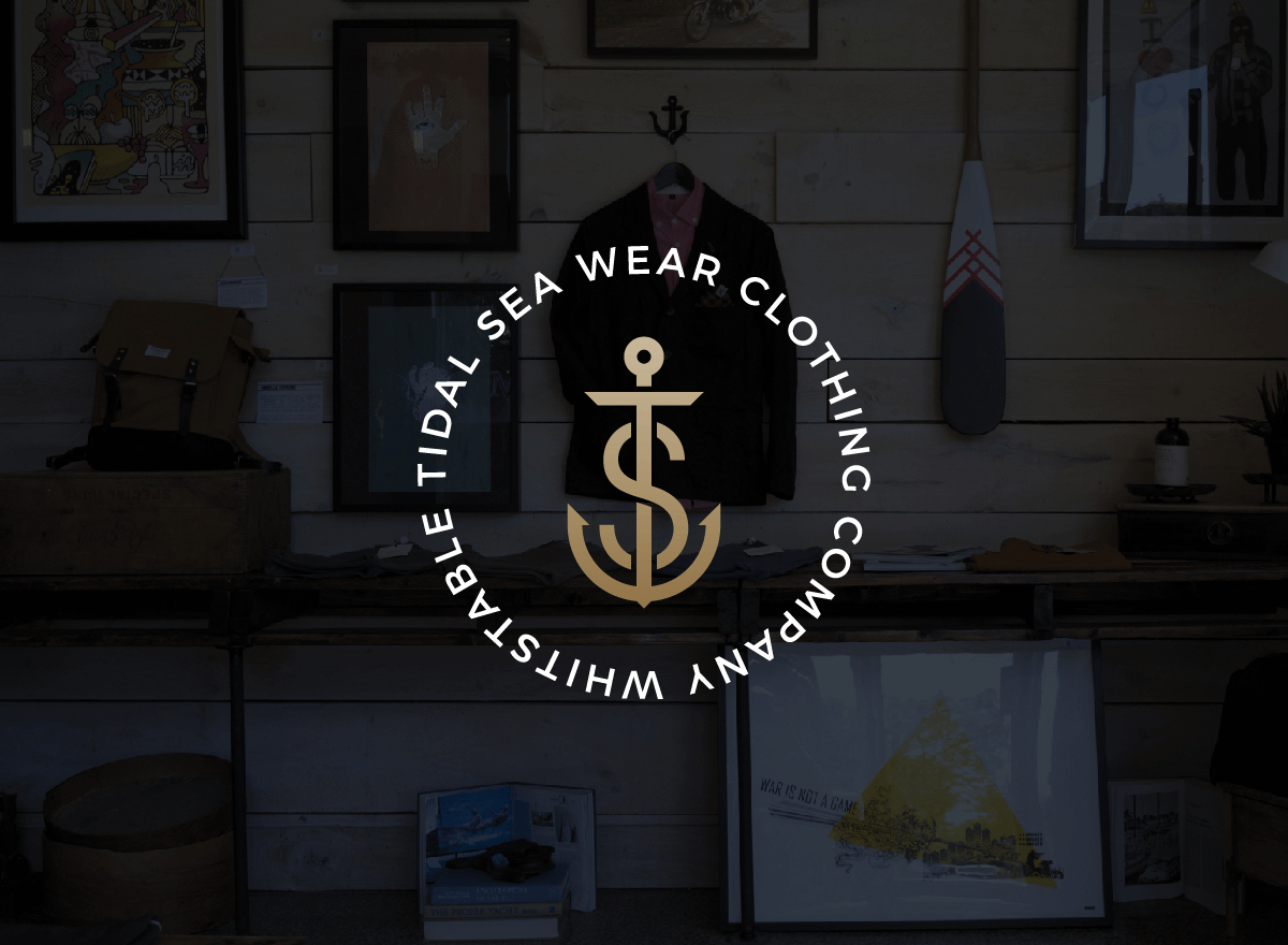 Tidal Sea Wear Branding