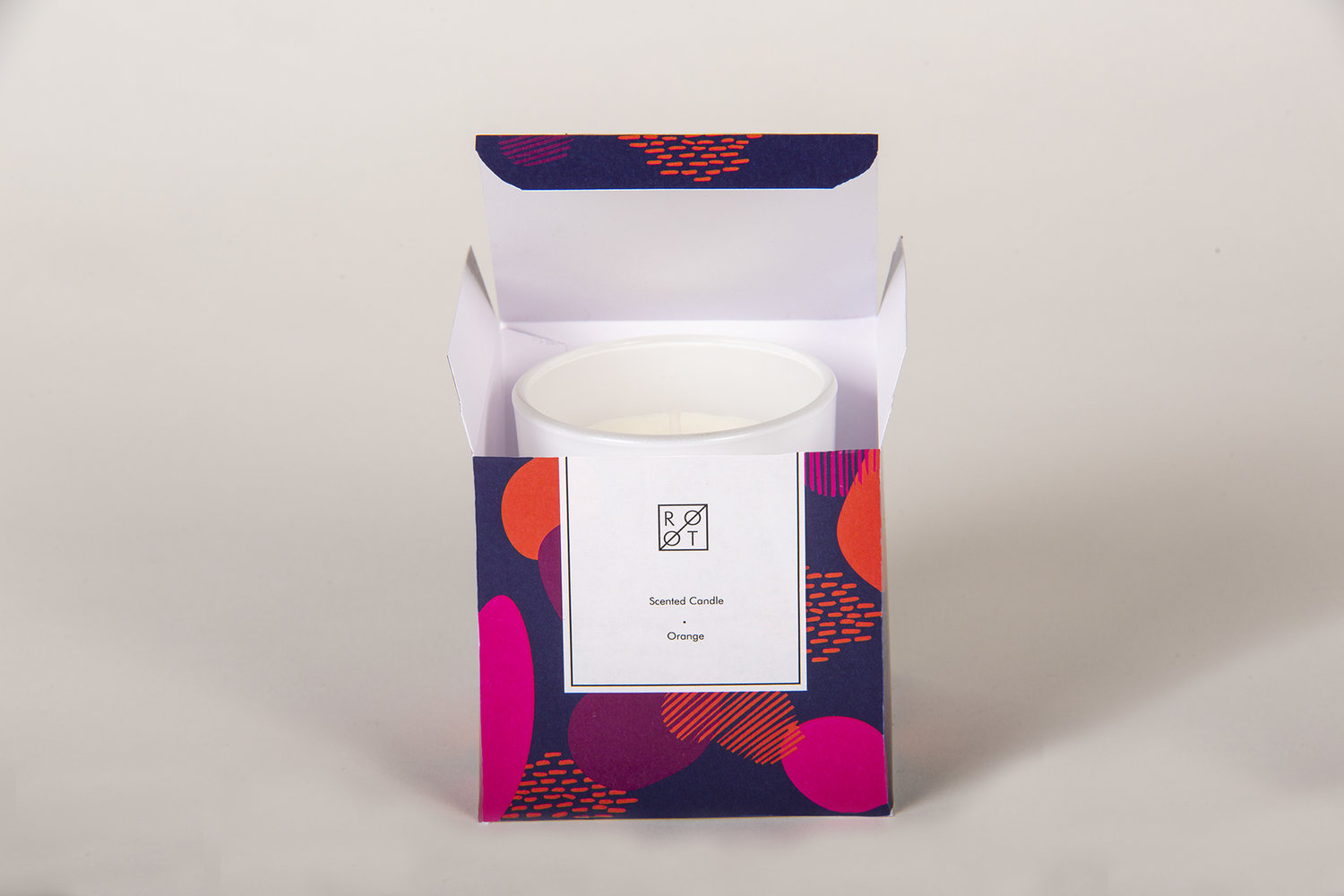 Root Boutique Candle Packaging