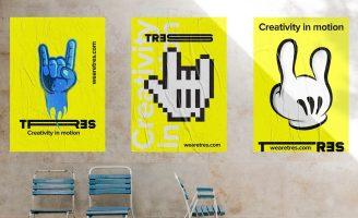 Corporate Branding for Audiovisual Production Studio: Tres