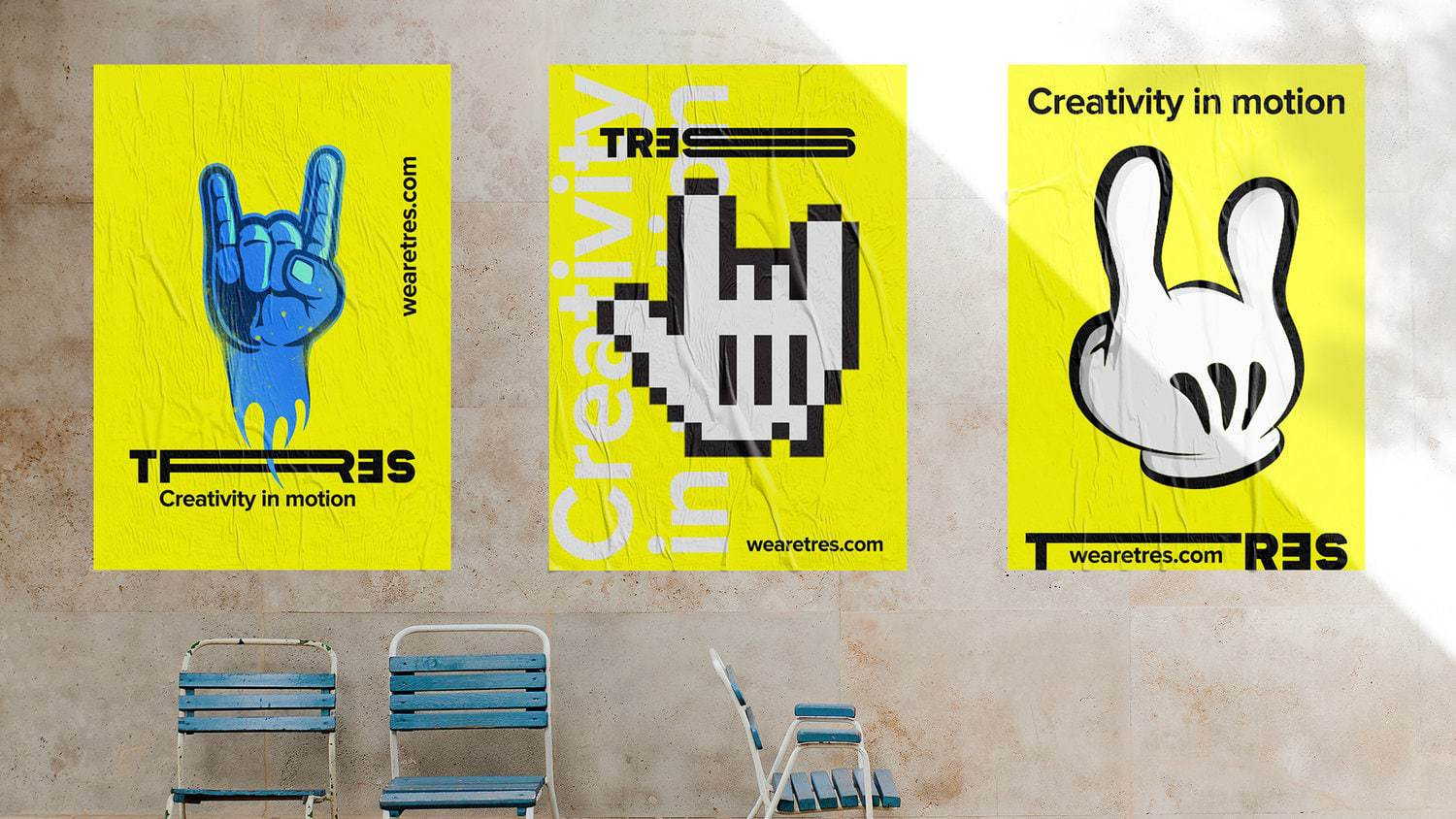 Corporate Branding for Audiovisual Production Studio: Tres