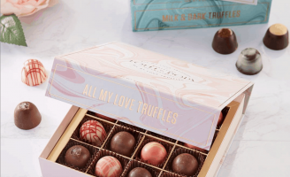 Luxury Giftable Chocolate Truffles – Oil and Water Inspired Library Explores the Best Chocolate Flavors from Around the World.
