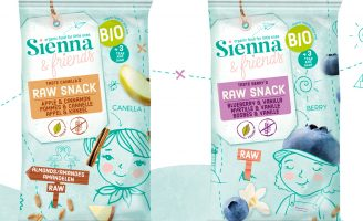 Brand and Packaging Design for Sienna & Friends by Cinnamon
