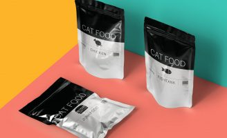 Brand Identity and Package Design for a Pet Food and Supplies Brand