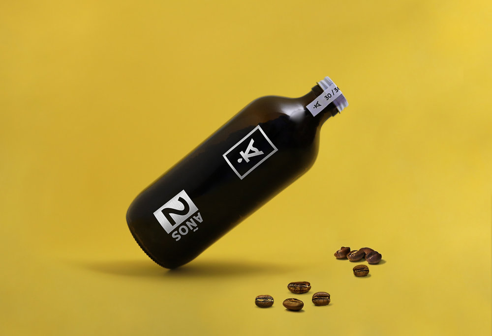 Specialty Whole Bean Coffee Bottle – Special Edition