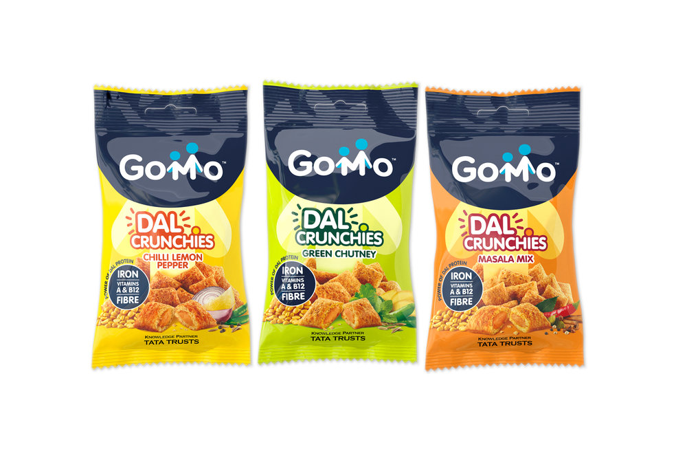 Straight Forward Design Partners With Mars to Create the Brand Identity for Gomo Dal Crunchies