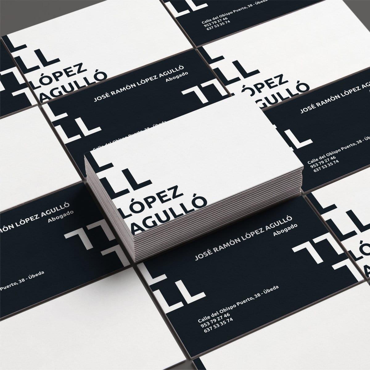 Renovated Branding for López Agulló
