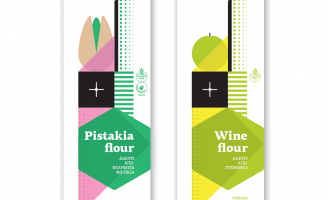 Pistakia and Wine Flour Packaging