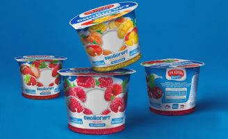 "Unibe Branding Agency Has Developed Packaging Design for Bio Yoghurt Cream for ""3k2k"" Brand"