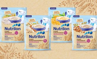 Packaging Design For NUTRICIA Infant Cereal Nutrilon