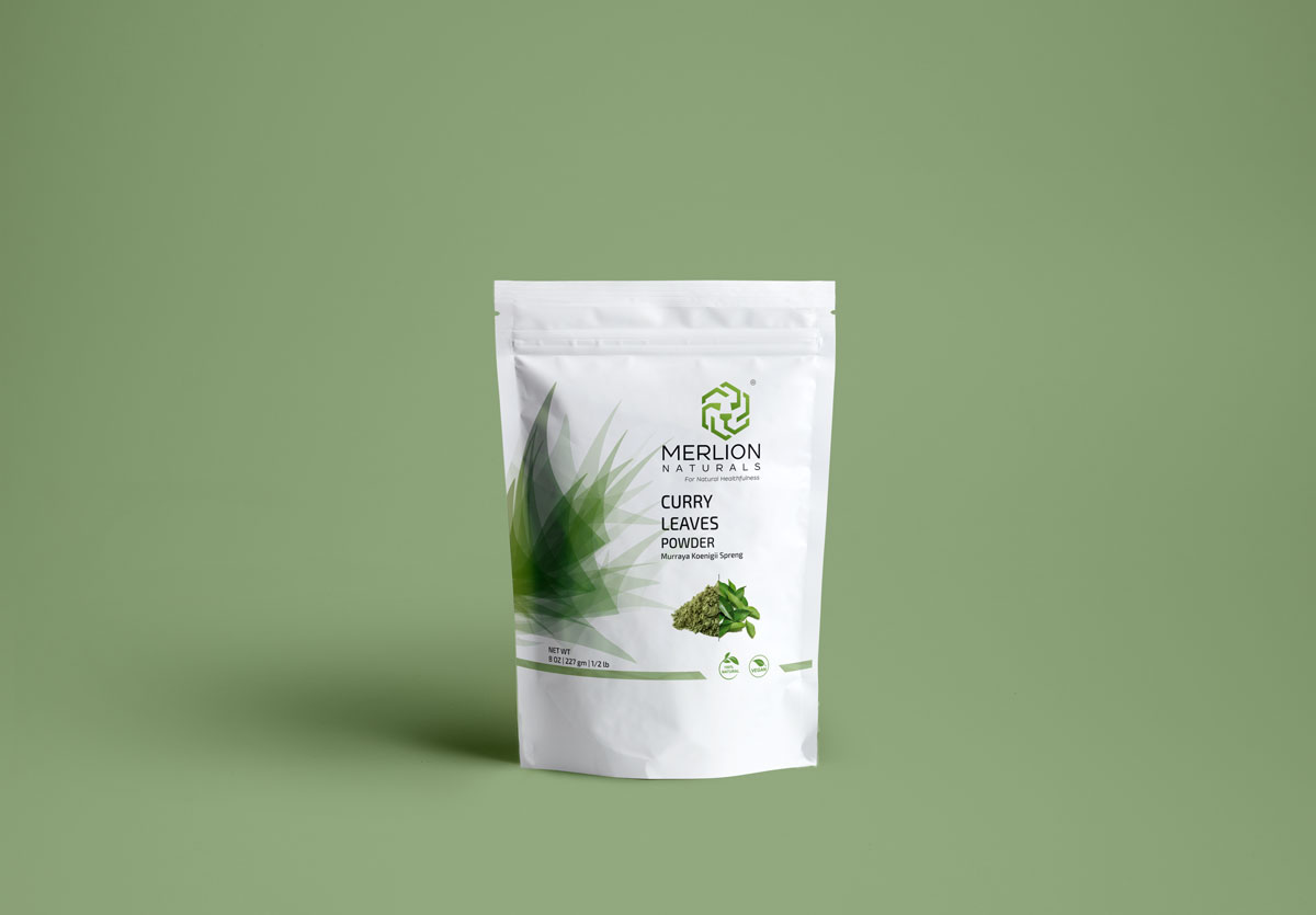 Packaging Design for All Natural Herb Powders
