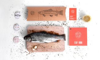 Branding and Packaging Design for Fish & Type Bistro