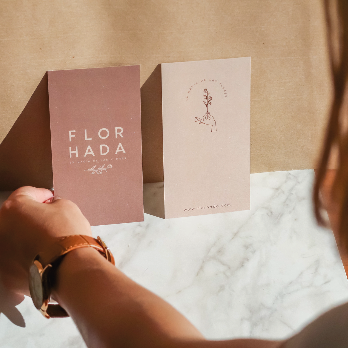 Branding for a Floral Shop in Seville