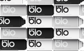 Blo Greyscale Paint Company, Because Colour Inside Blos