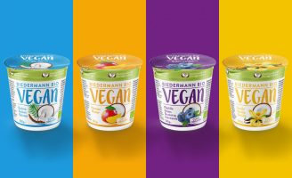 Packaging Design for Biedermann Bio VEGAN