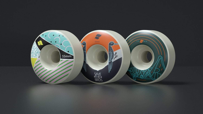 Skateboarding Graphics