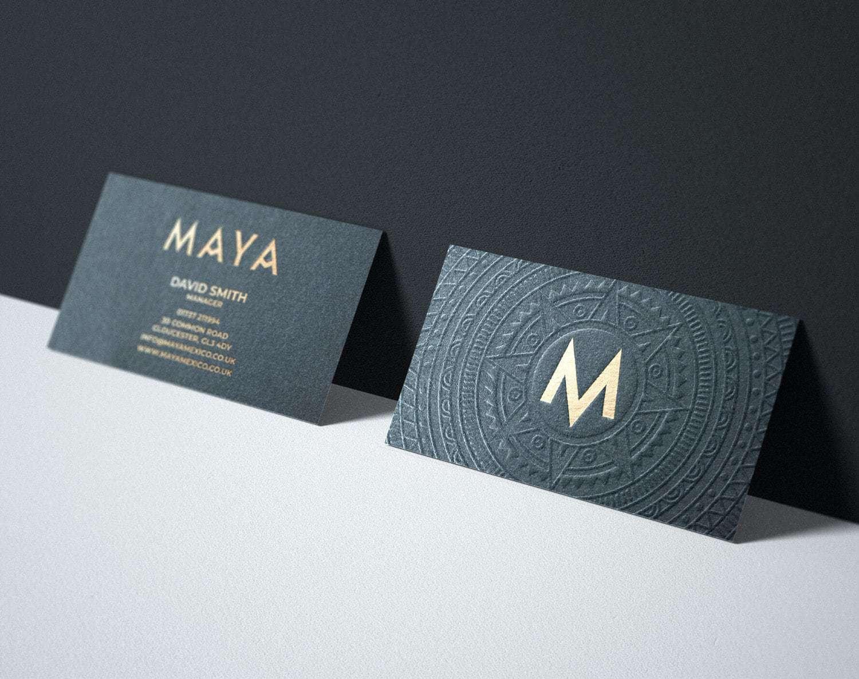 Brand Identity For Maya A New Luxury Restaurant World Brand Design