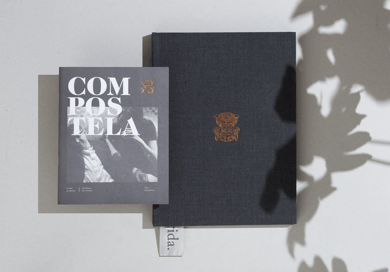 Minimalist and Modern Branding and Editorial Design of the Sales Material for Residential Project in Mexico