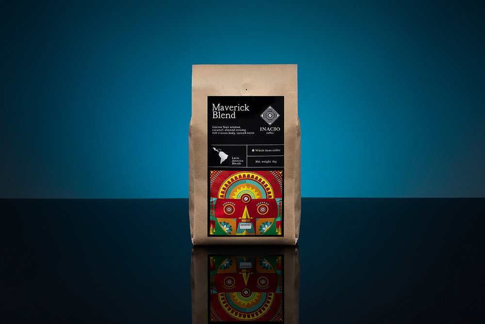 Packaging Design for Inacio Coffee