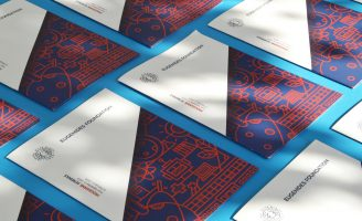 Brochure and Identity design for Eugenides Foundation
