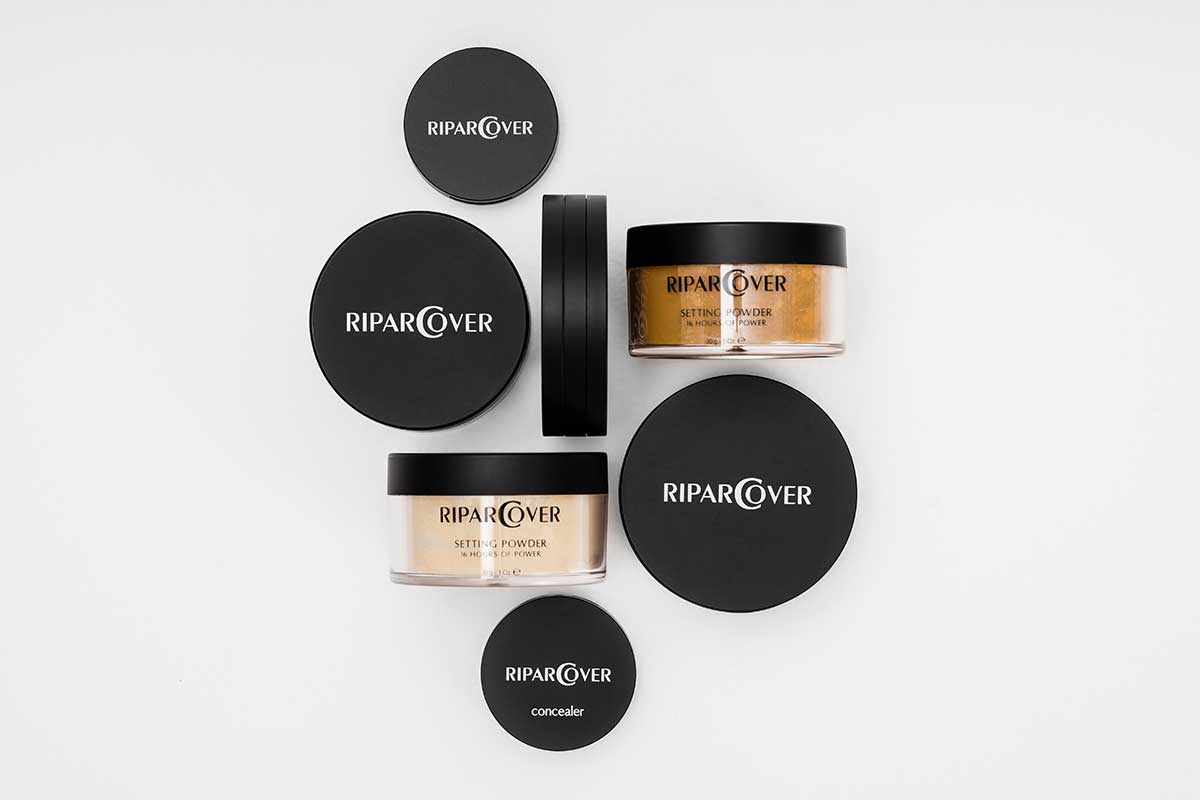 New packaging design for RiparCover Line by Ripar Cosmetics