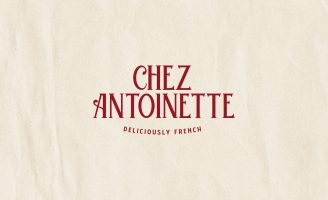 Nicolas Lavrov Studio Re-Brand For the Deliciously French Restaurant Chez Antoinette