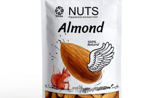 Taha Fakouri Creat New Nuts Packaging for Hilda