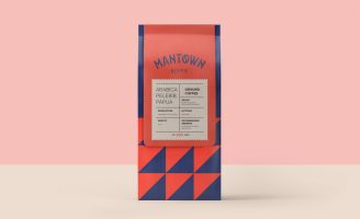 Branding for ManTown Koffie