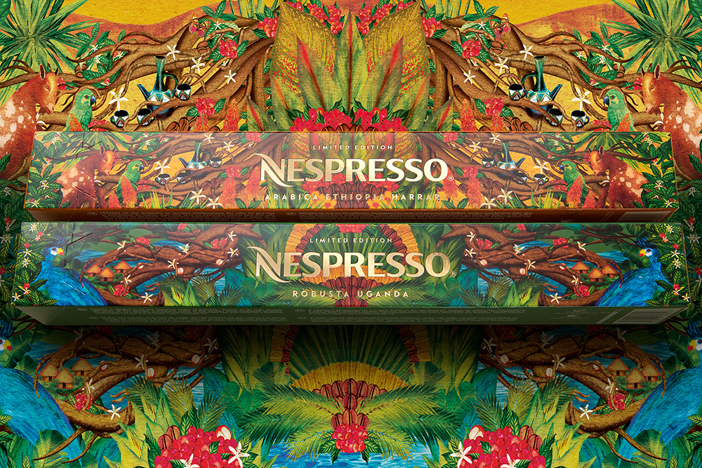 Limited Edition Packaging 'Nespresso Cradle'