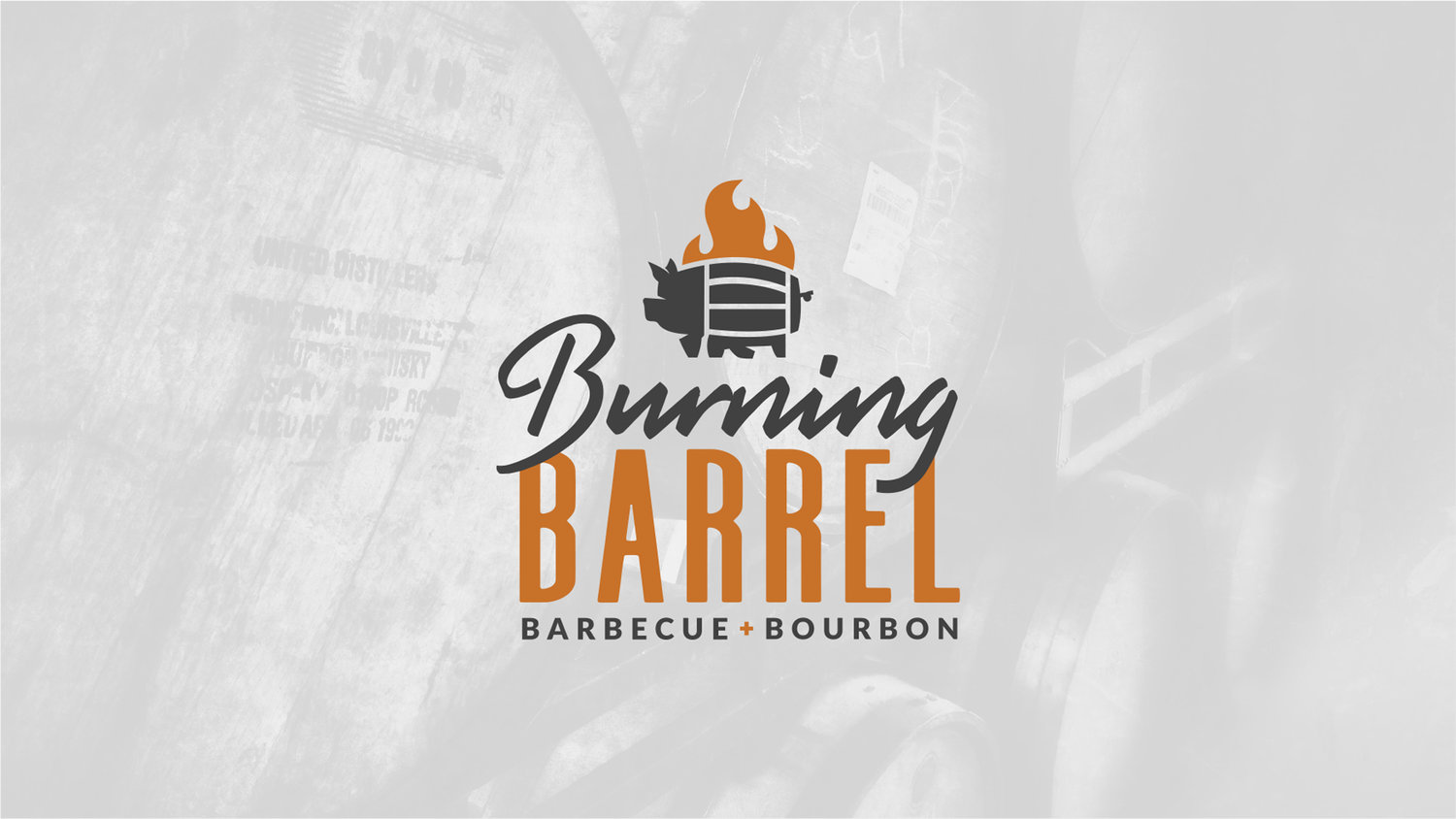 BBQ and Bourbon Packaging for BBQ Restaurant