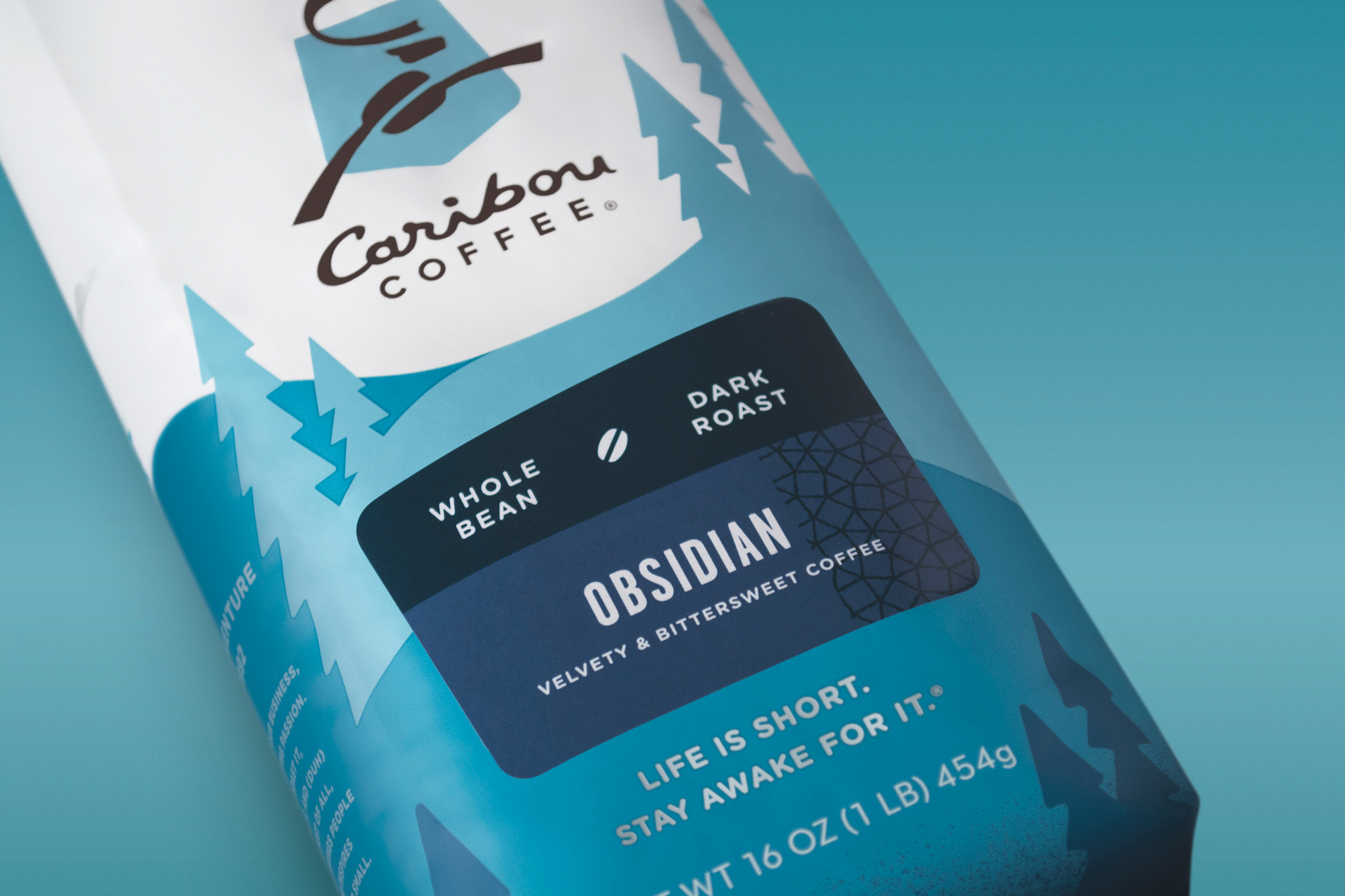 Caribou Coffee Signature Packaging