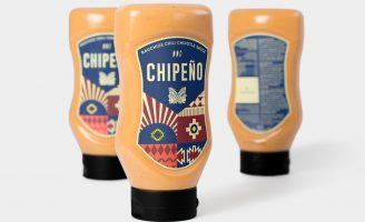 Packaging Design for Chili Chipotle Sauce Chipeño